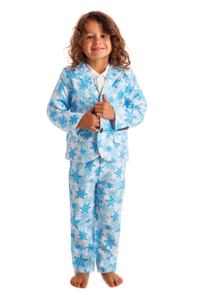kids snowflake Christmas suit