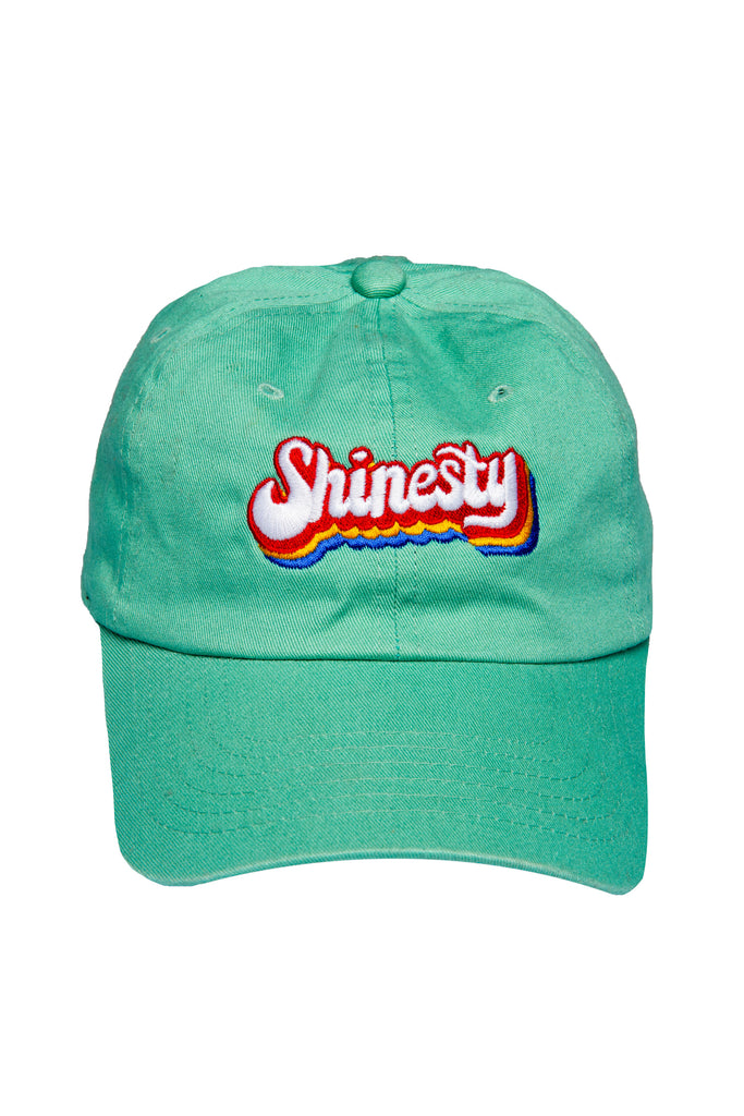 The Big Day Sport Teal Retro Shinesty Dad Hat