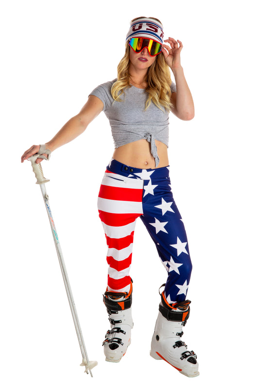 Womens USA Ski Pants
