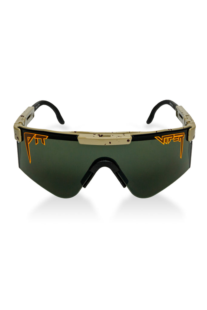 The Big Buck | Hunter Green Pit Viper Sunglasses