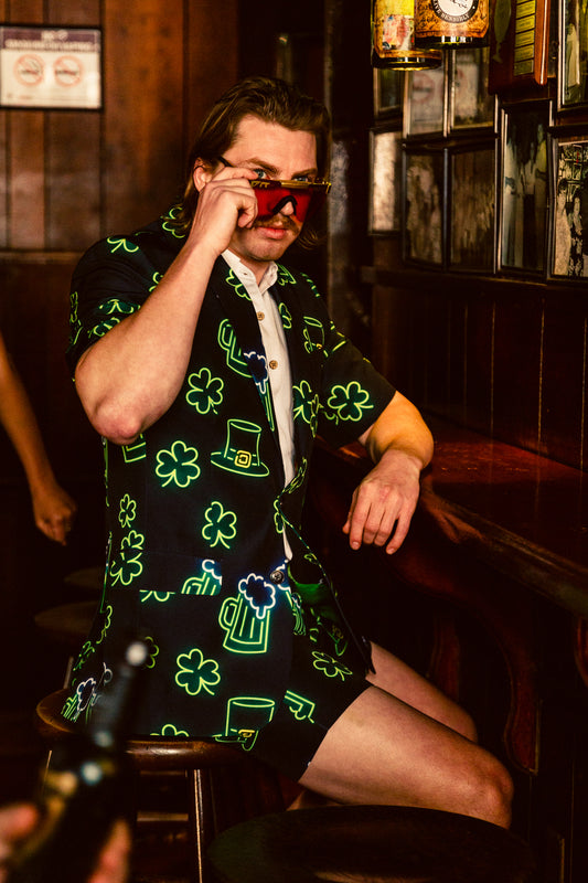 Men's st. patrick's day short suit