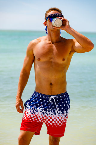 e4746f5a34d71 The Most Patriotic American Flag Clothing & USA Outfits on Earth
