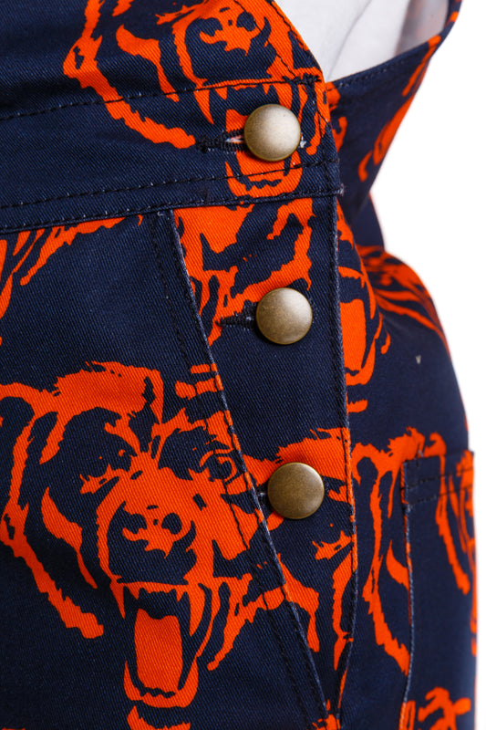 Chicago bears gameday overalls