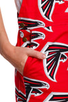 Atlanta falcons women's overalls with pockets