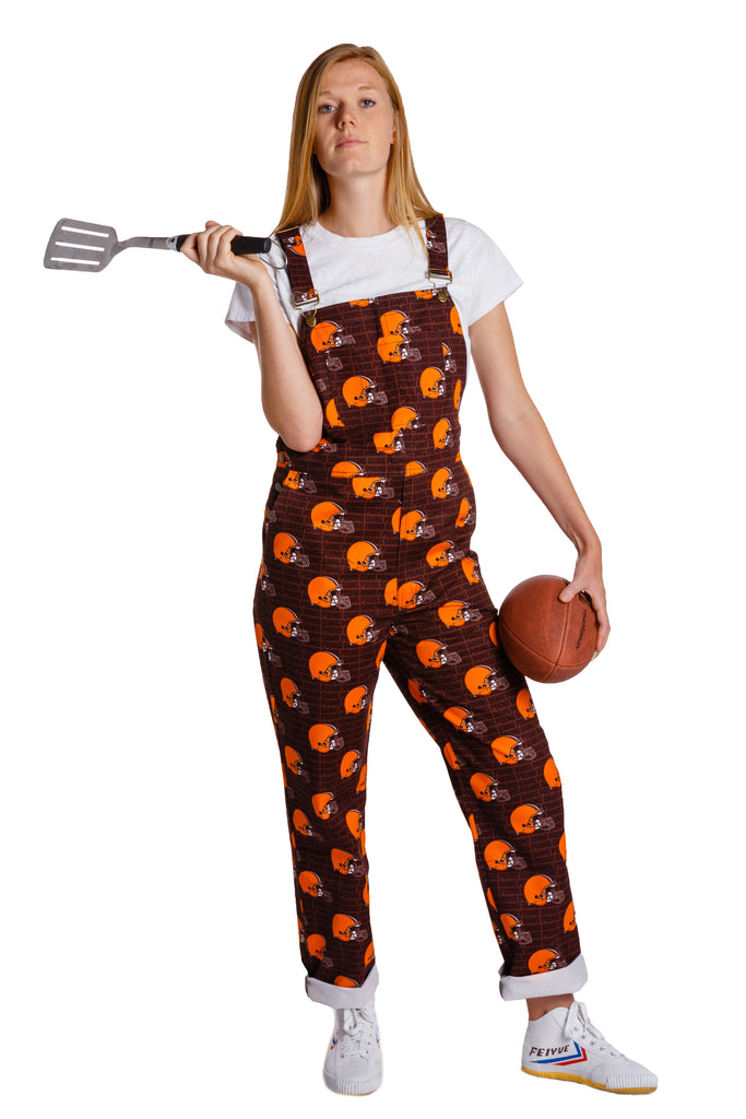 The Cleveland Browns | Ladies Unisex NFL Overalls