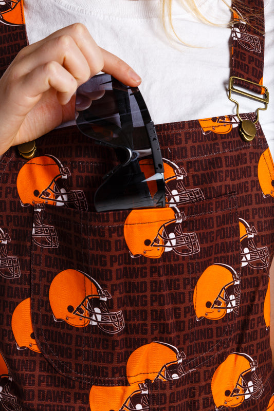 f424a687 The Cleveland Browns | Ladies NFL Overalls | Pre-Order | Delivery September  2019