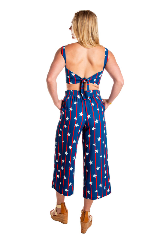 women's patriotic pants