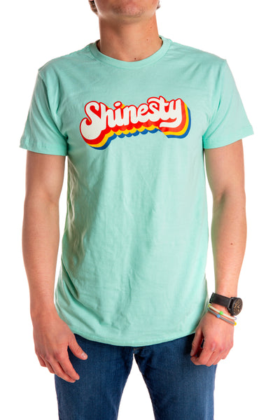 6558a299207 The Kelso Men s Mint Shinesty Retro Logo T-Shirt