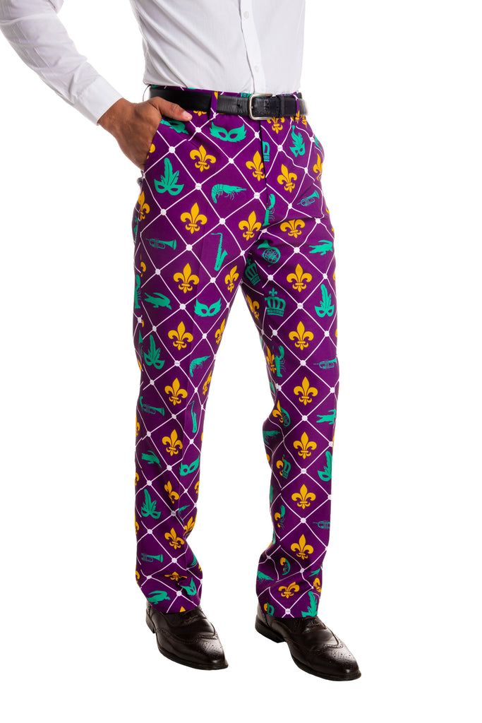 Show Me Your Teets | Mardi Gras Diamond Pants