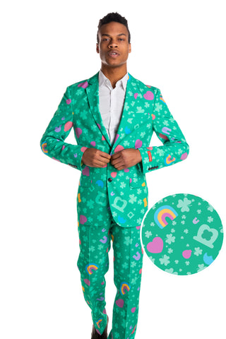 Mens St Patricks Day Suits Jackets Clothing By Shinesty