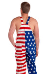 4th of july overalls for men