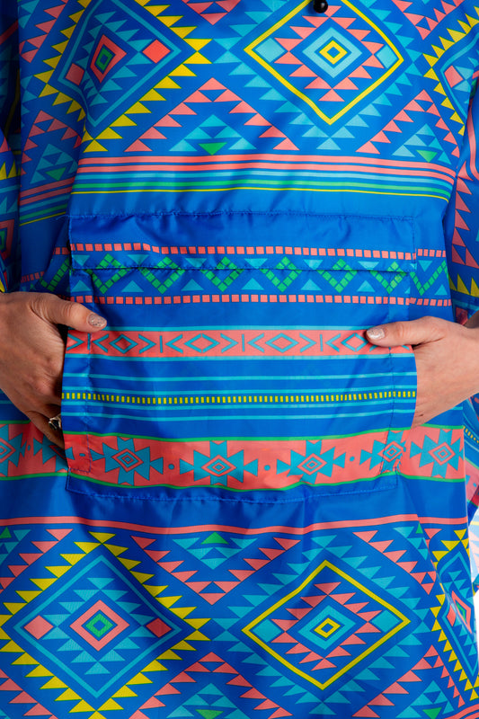 fanny pack poncho