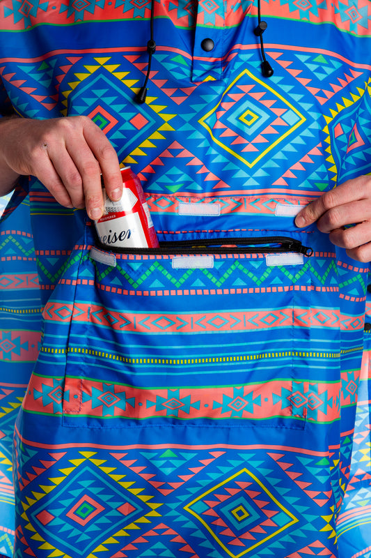 western fanny pack party poncho