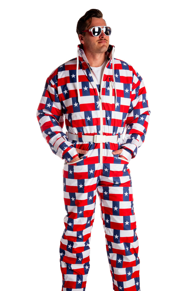 The Bigger Dumps In Texas | Texas Flag Ski Suit
