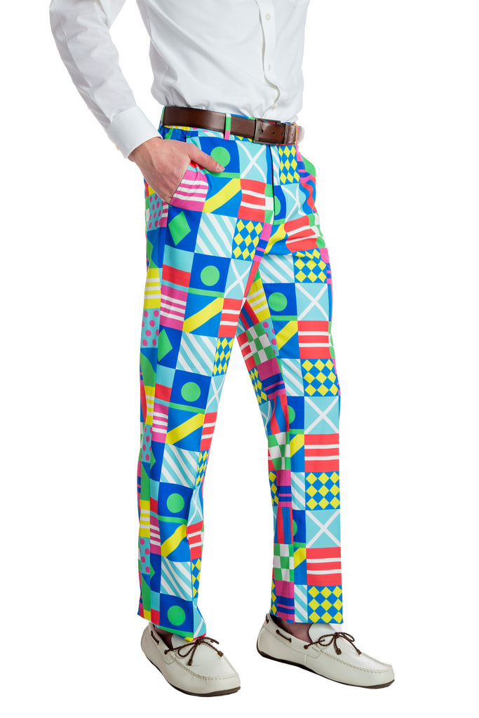 The Kentucky Secretariat Derby Flag Pants