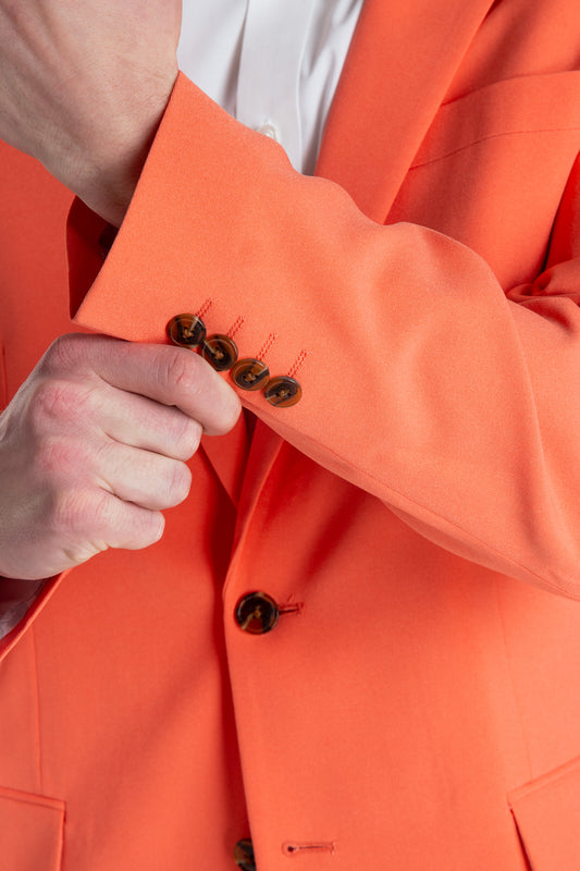 The Dandy Derby Daddy | Orange Derby Suit