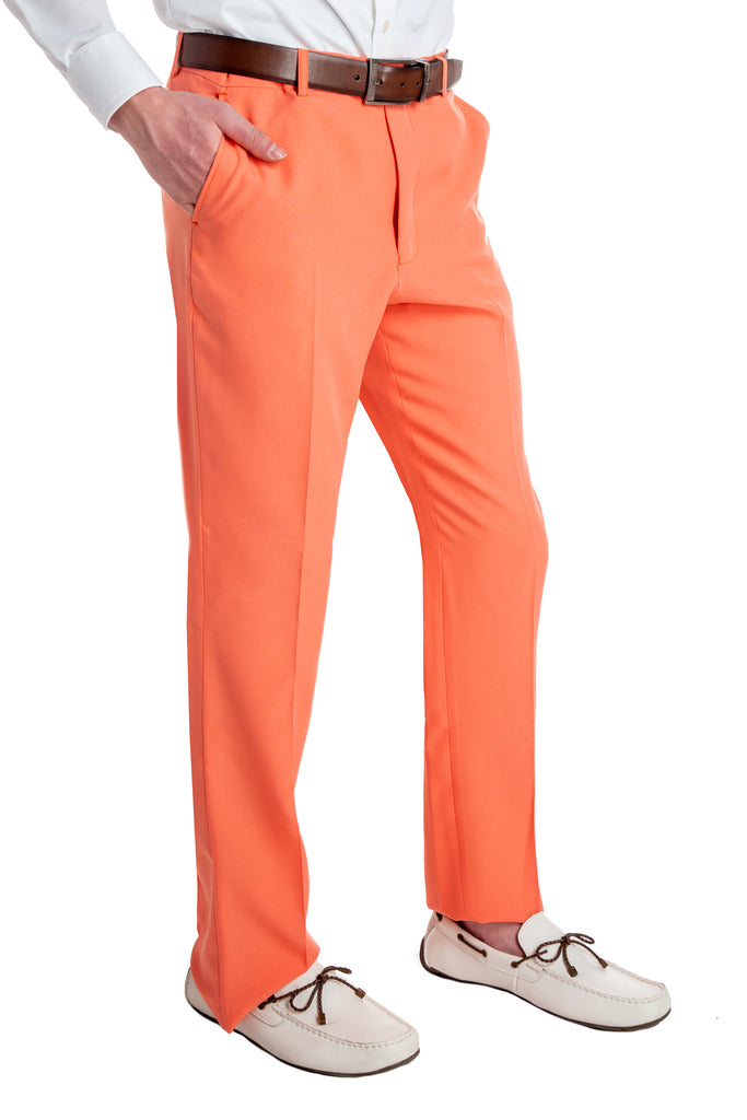 Ripe Persimmons | Pastel Orange Pants