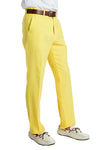 The Summer Shandy | Yellow Pastel Suit Pants