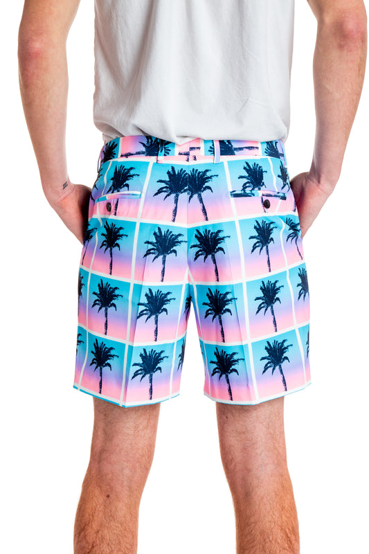 blue shorts summer suit off white shorts for men