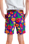 Tropical Hawaiian mens shorts