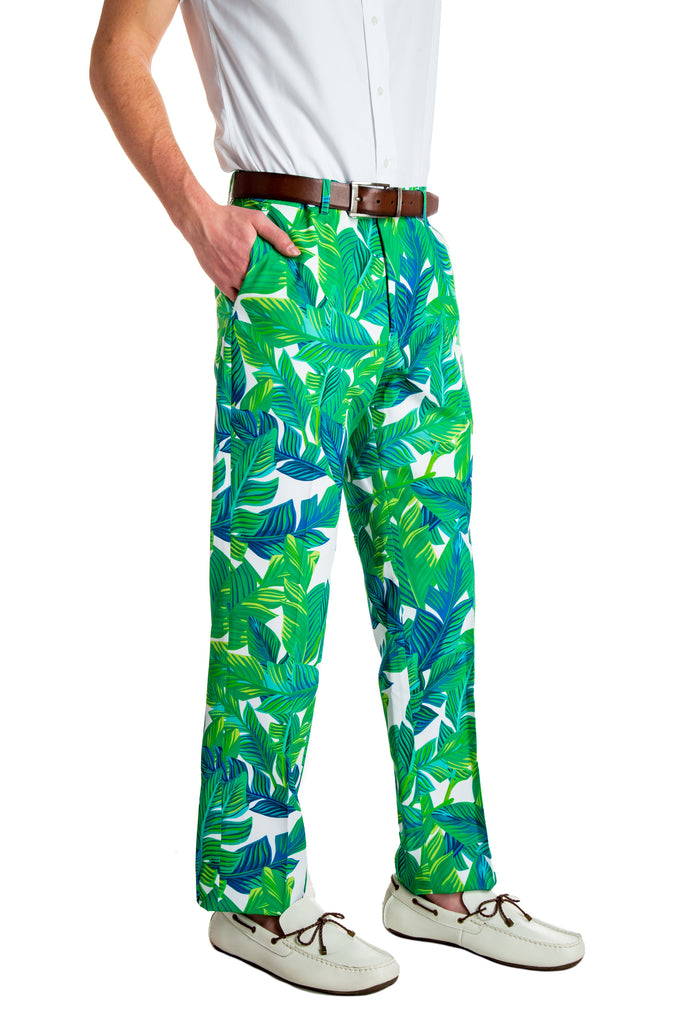 The Sex Jungles | Green Palms Party Pants