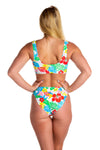 floral swimsuit for women
