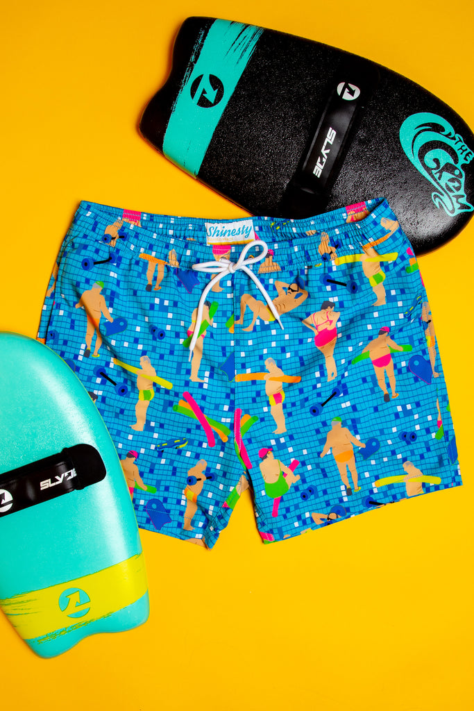 The Geriatric | Blue Swim Trunks