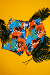 retro swim trunks for men