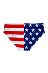 Swim brief for men swimsuit USA pattern