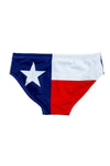 USA theme swim brief for men