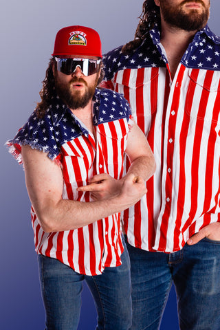 7479ef4852 The Most Patriotic American Flag Clothing   USA Outfits on Earth