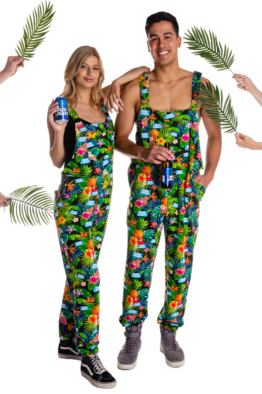 Bud light overall pajamas