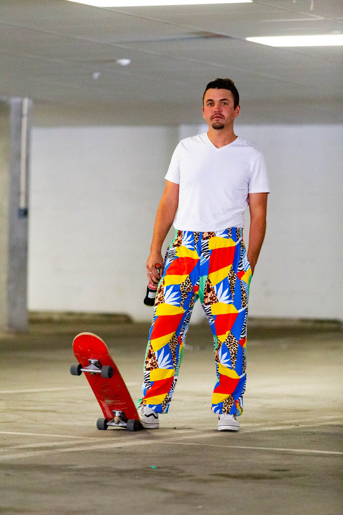 The Freshest Prince | Abstract Hammer Pants