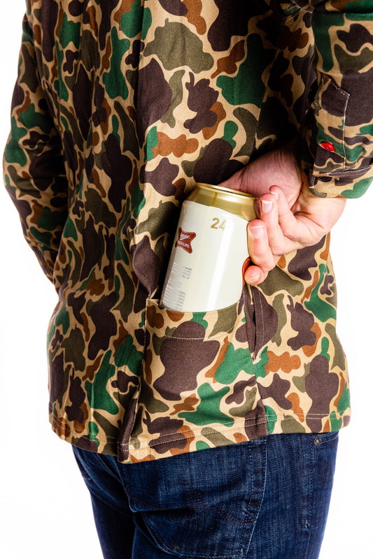 Long sleeve camouflage party shirt