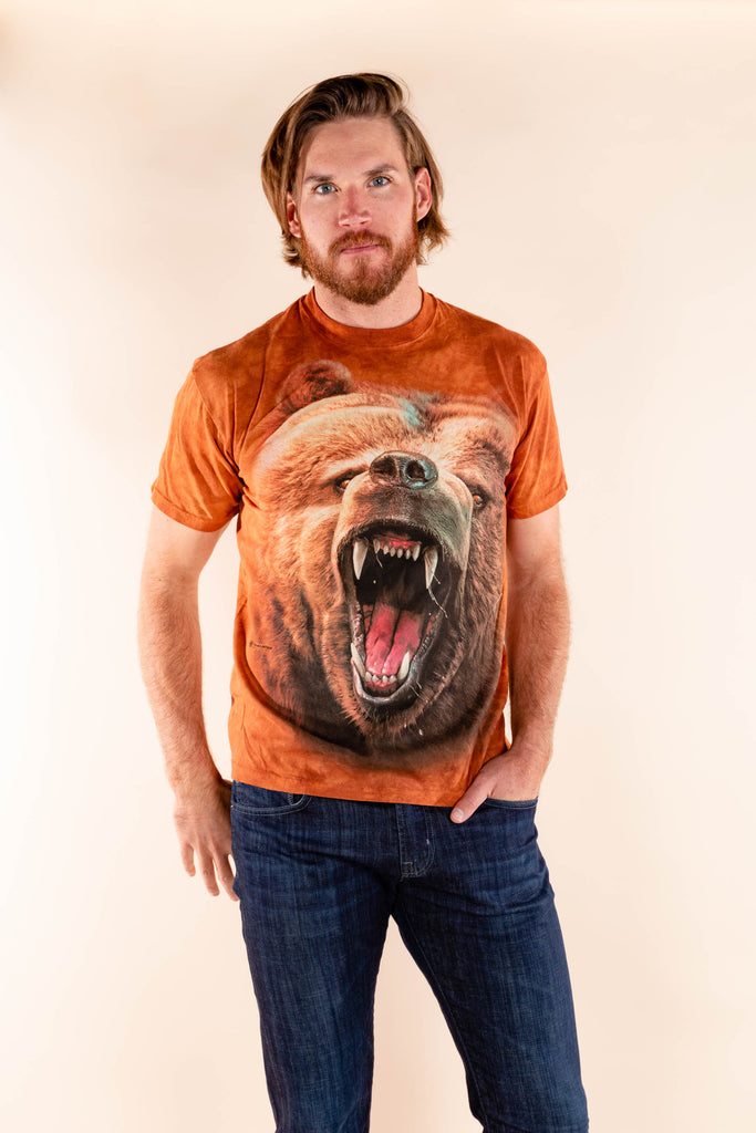 Damn... You Are Grizzled | Grizzly Bear Shirt