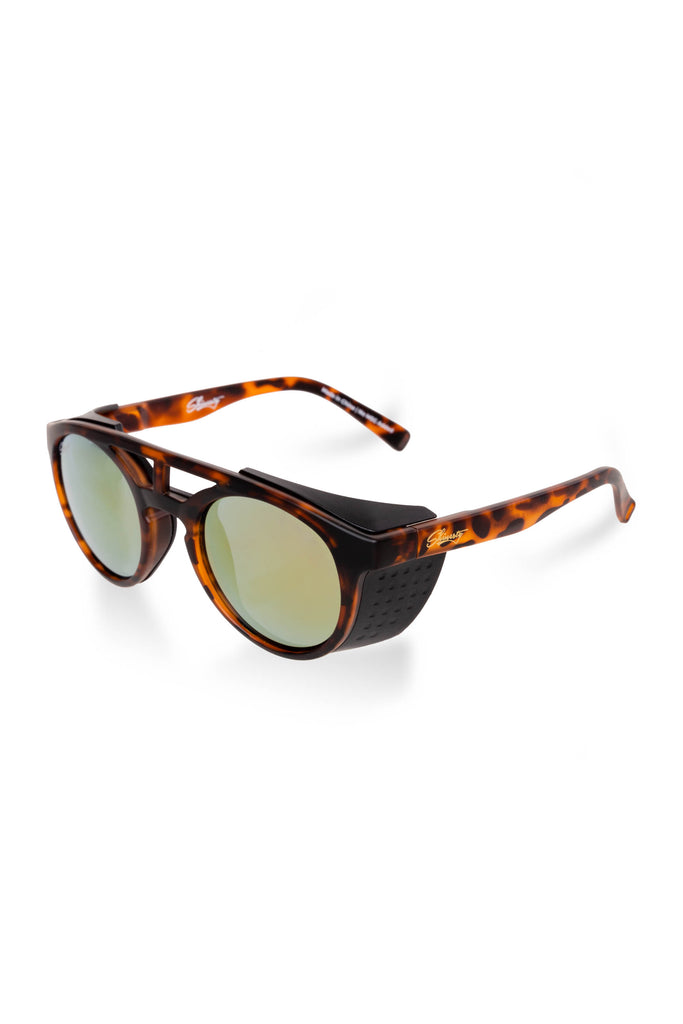 The Michaelangelo's | Tortoise Shell Matte Glacier Sunglasses