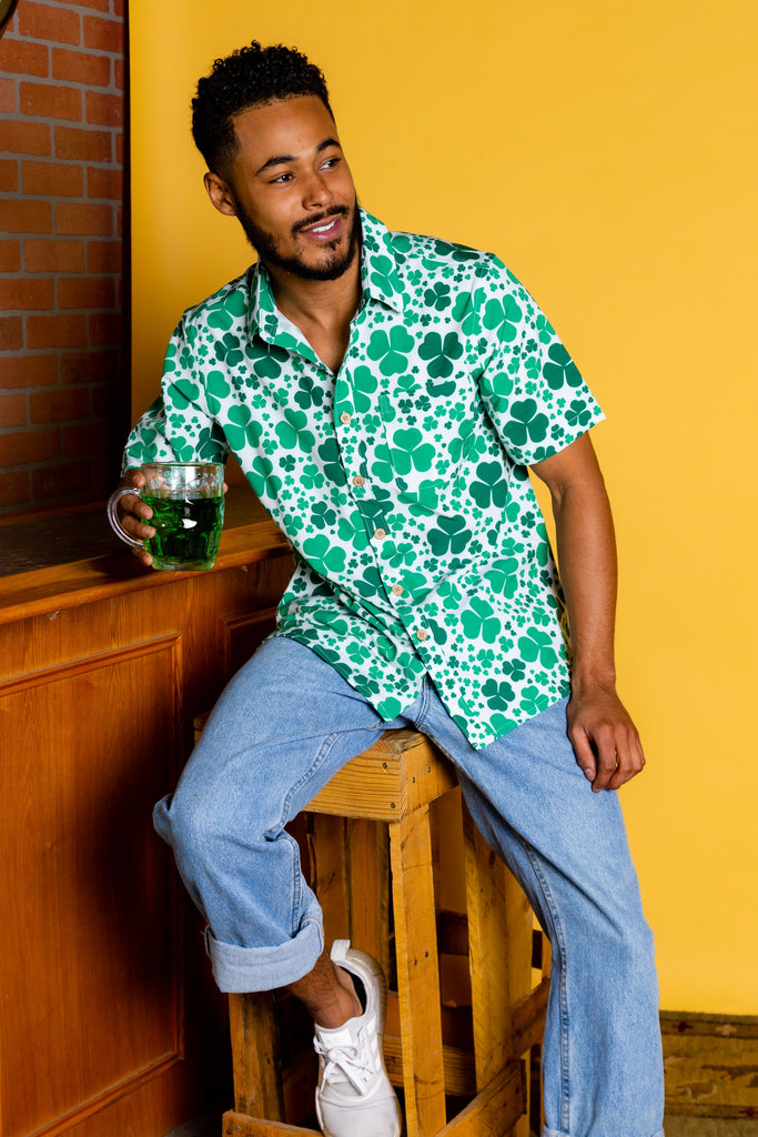 The Keep On Shamrockin' | St. Patrick'S Day Hawaiian Shirt