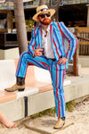The Trifecta | Preppy Stripe Suit