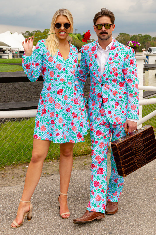 matching derby rose outfits