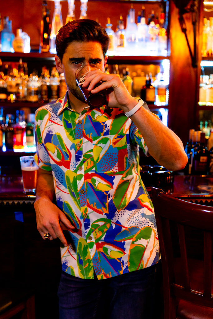The Hot in Havana | Tropical Stretch Hawaiian Shirt