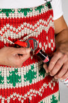 The Red Ryder | Mens Christmas Pajamaralls