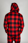 The Lumbersexual | Buffalo Check Adult Onesie