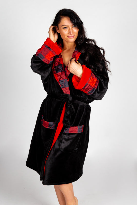 plush soft robe for men and women