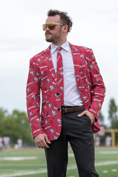 The San Francisco 49ers Suit Jacket