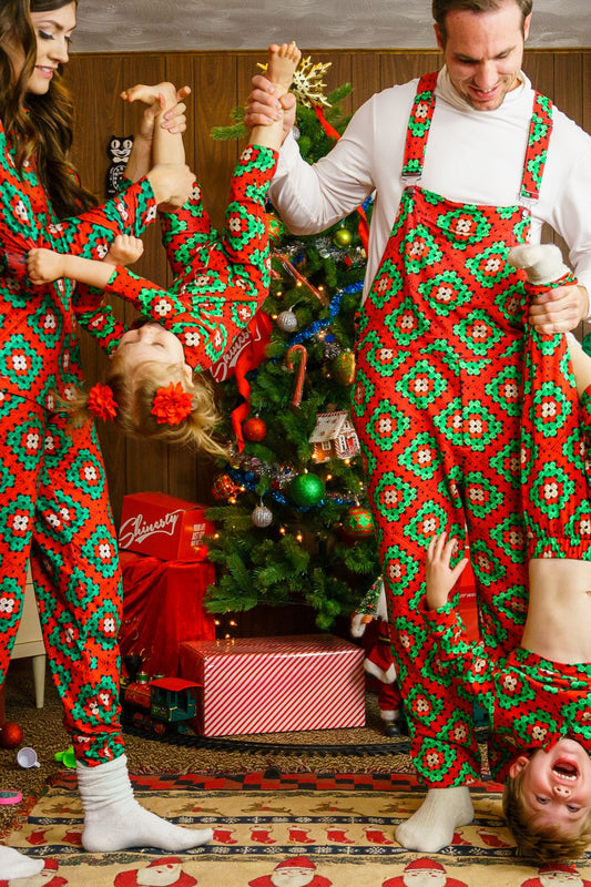 The Quilty Pleasure | Quilted Matching Family Christmas Pajamas