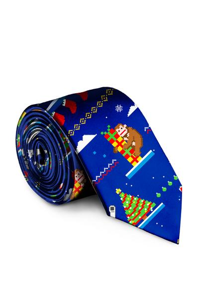 The 8-Bit | Ugly Christmas Tie