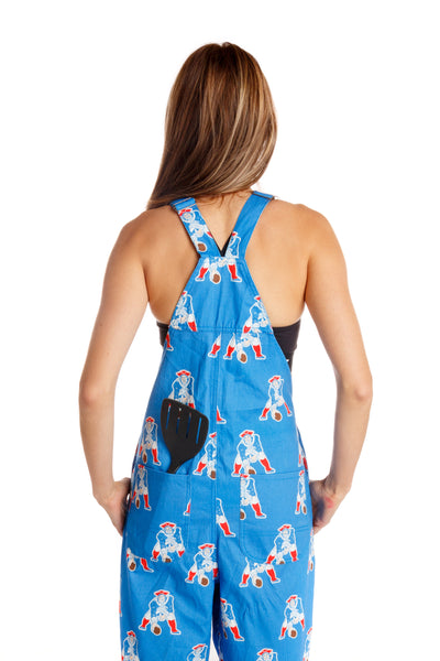 Ladies New England Patriots Overalls