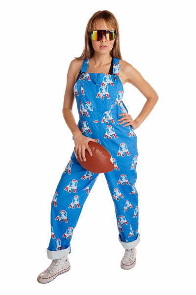 Ladies New England Patriots NFL Overalls