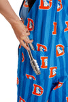 Denver Broncos Striped Overalls