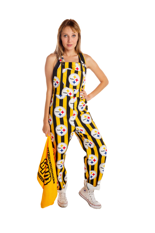 03aa9cae The Pittsburgh Steelers   Ladies NFL Overalls